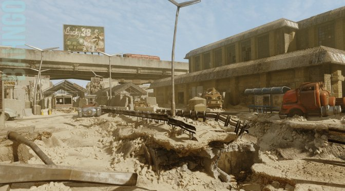 Modder is working on a Fallout New Vegas map for Call of Duty: Black Ops 3, teaser trailer