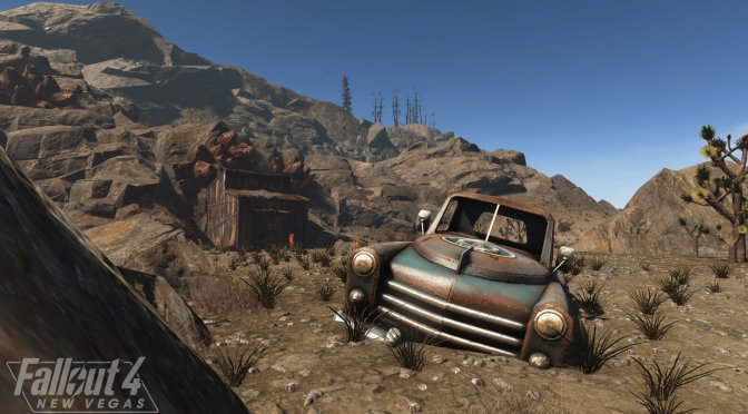 New gameplay teaser video released for Fallout New Vegas Remake in Fallout 4, Fallout 4: New Vegas
