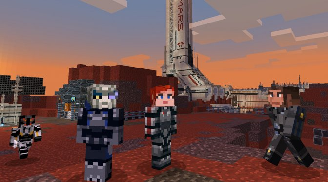 Mass Effect Mash-up Pack for Minecraft is now available on the PC