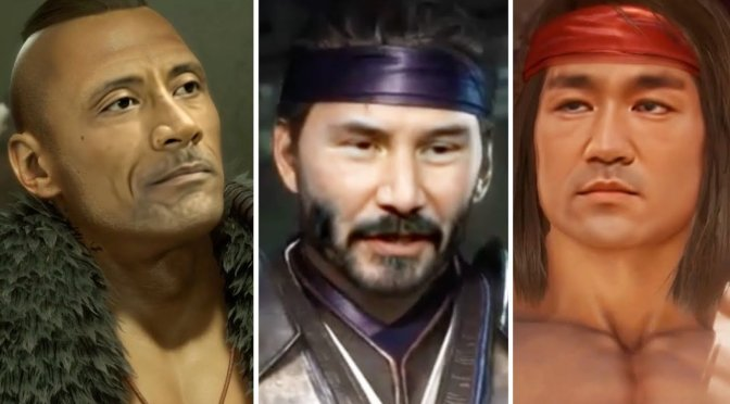 Here are Keanu Reeves, Jackie Chan, Bruce Lee, Joaquin Phoenix and more in Mortal Kombat 11