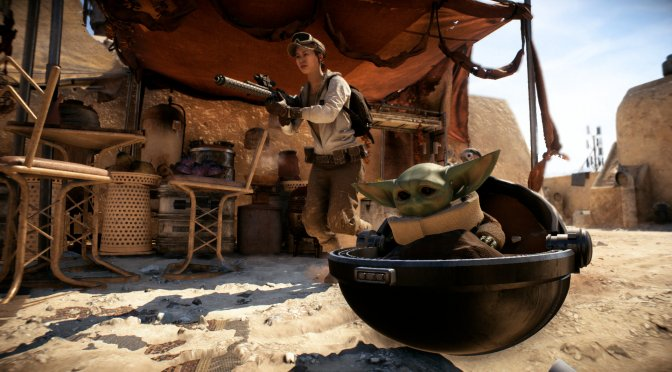 Star Wars Battlefront 2 Baby Yoda Mod is finally available for download