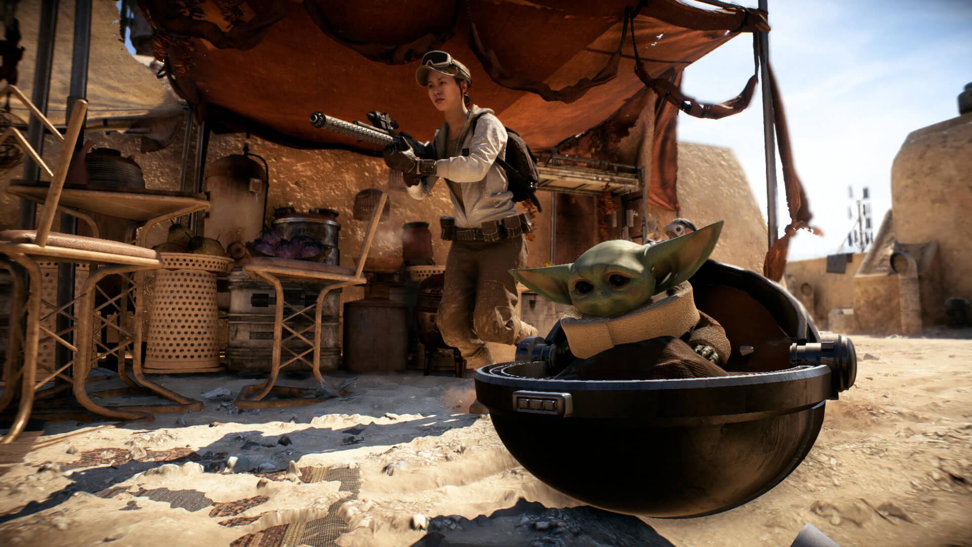 Star Wars Battlefront 2 Baby Yoda