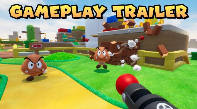The Super Mario FPS Unreal Engine 4 fan game is finally available for download
