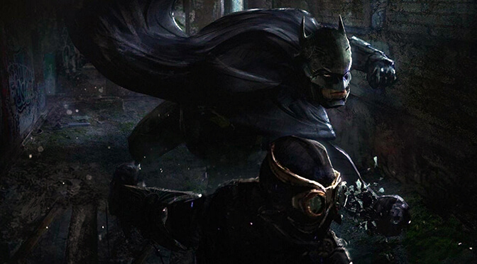 Batman Warner Bros unannounced game