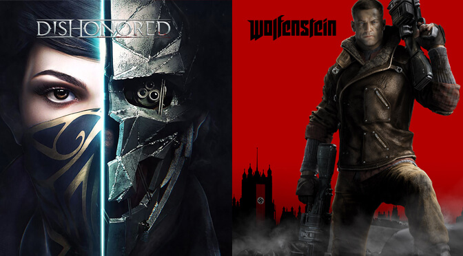 Dishonored and Wolfenstein are now available on GOG, DRM-free