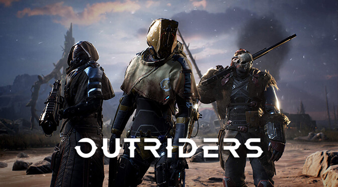Here are twelve minutes of brand new gameplay footage from People Can Fly's Outriders