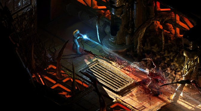Here is what Dead Space could look like as an isometric game