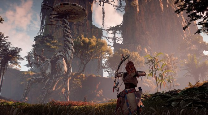 Here is the first official PC screenshot for Horizon Zero Dawn Complete Edition