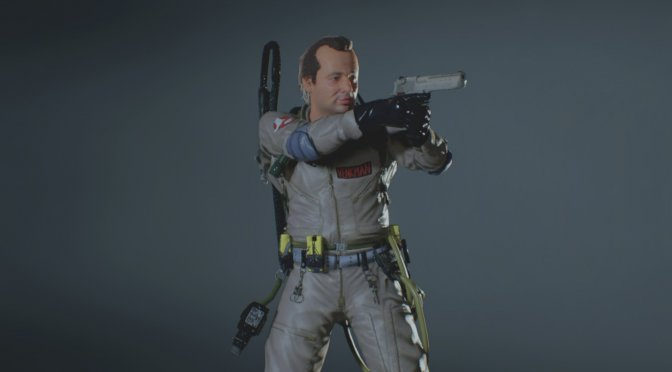 This Ghostbusters Mod lets you play as Peter Venkman and Egon Spengler in Resident Evil 2 Remake