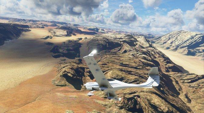 New incredible and beautiful screenshots for Microsoft Flight Simulator surface online