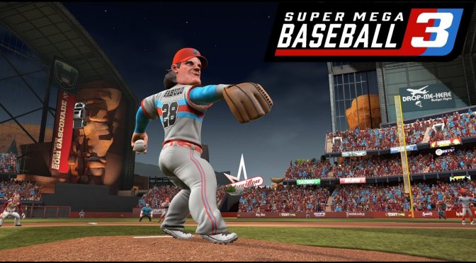 Super Mega Baseball 3 is coming to the PC in April 2020