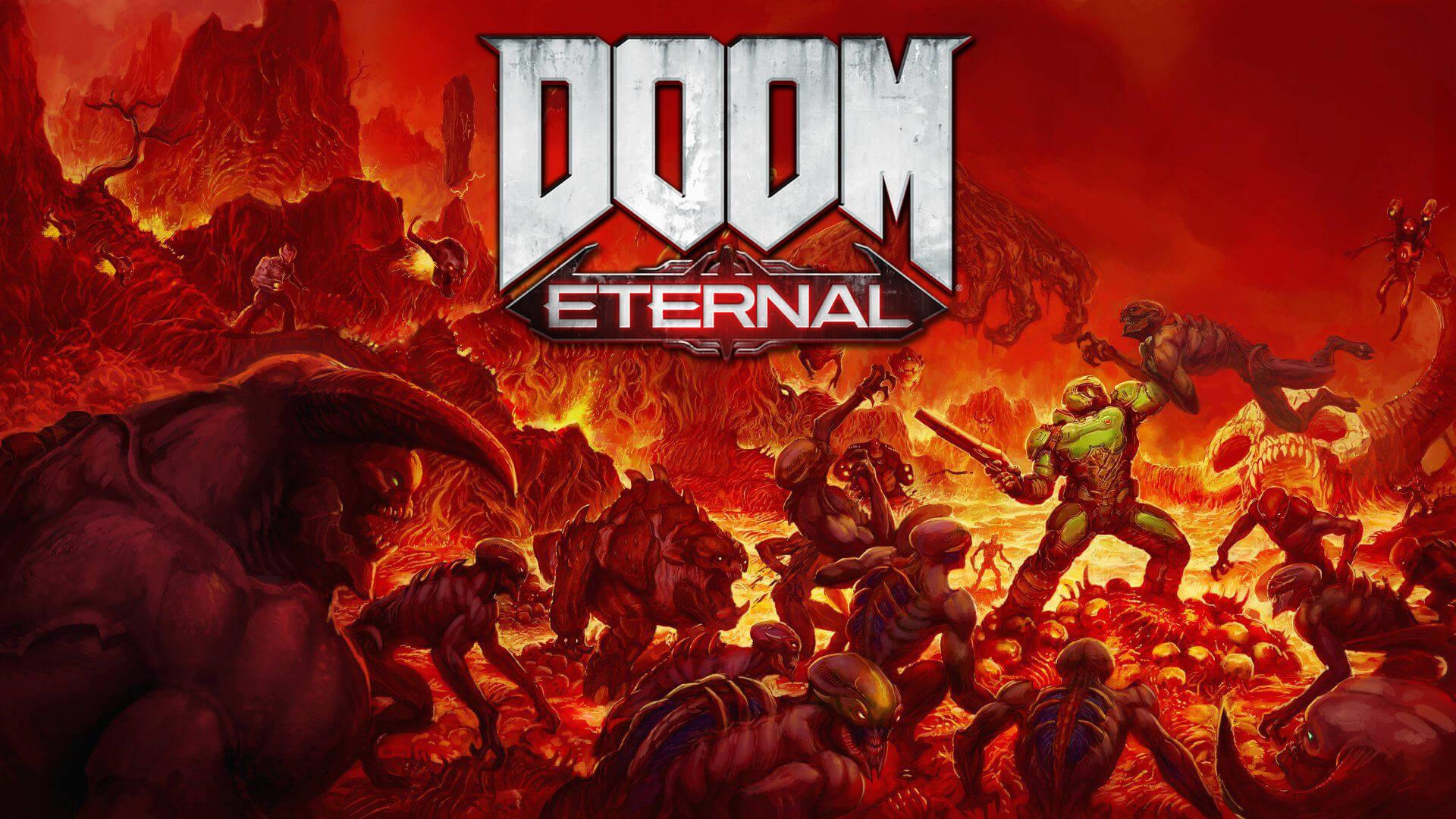 Doom Eternal wallpaper header image