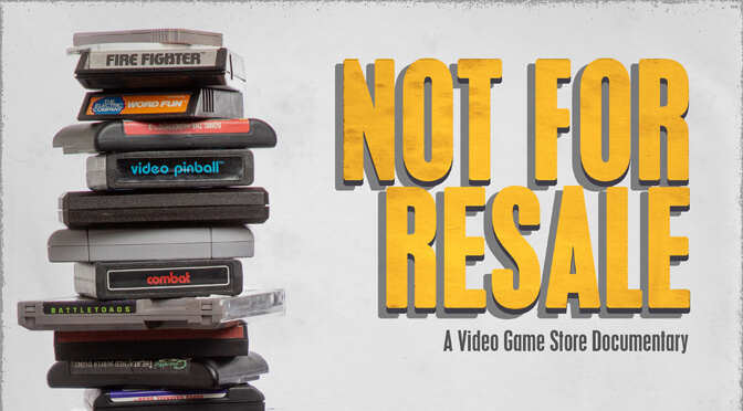 Official trailer for the video game store documentary 'Not For Resale'