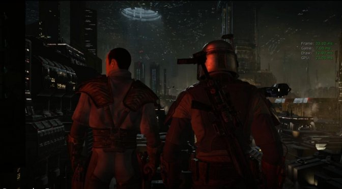 Here are two more leaked in-game screenshots from Star Wars 1313