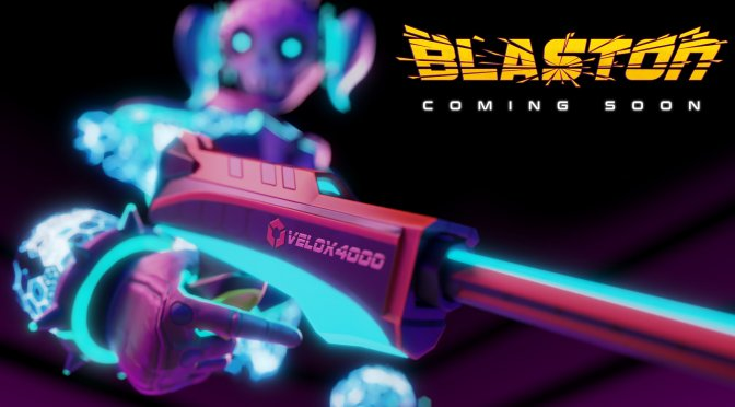 Blaston is a new VR PvP action game that is coming to the PC later this year