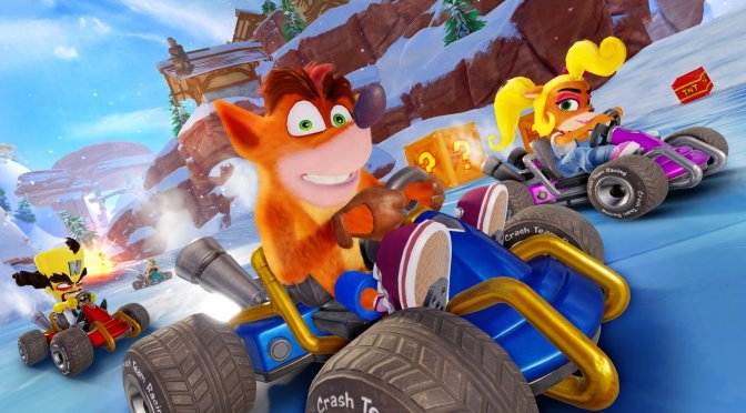 Official website hints at Crash Team Racing Nitro-Fueled coming to the PC