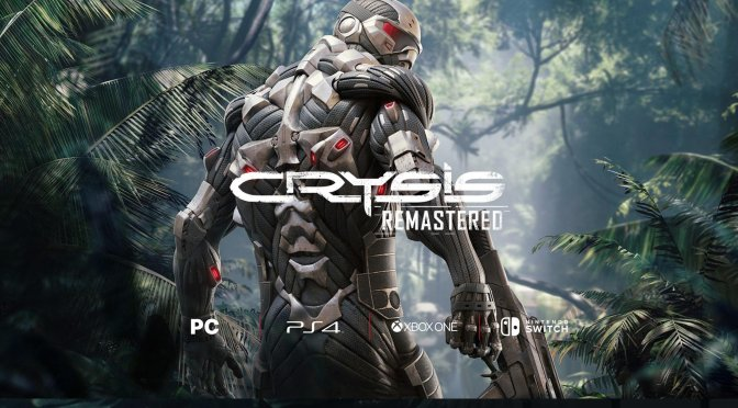 First official Crysis Remastered gameplay trailer coming on July 1st