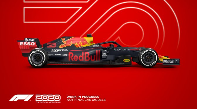 First gameplay footage revealed for F1 2020