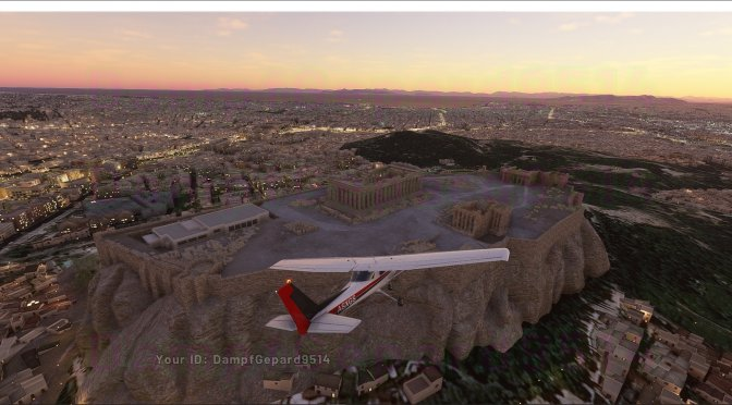 Microsoft releases new beautiful screenshots for Flight Simulator Alpha