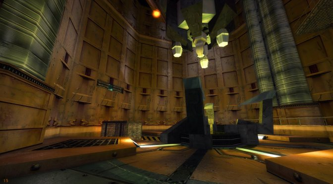 This 4.3GB AI-enhanced HD Mod brings high quality textures and normal maps to Half-Life: Source