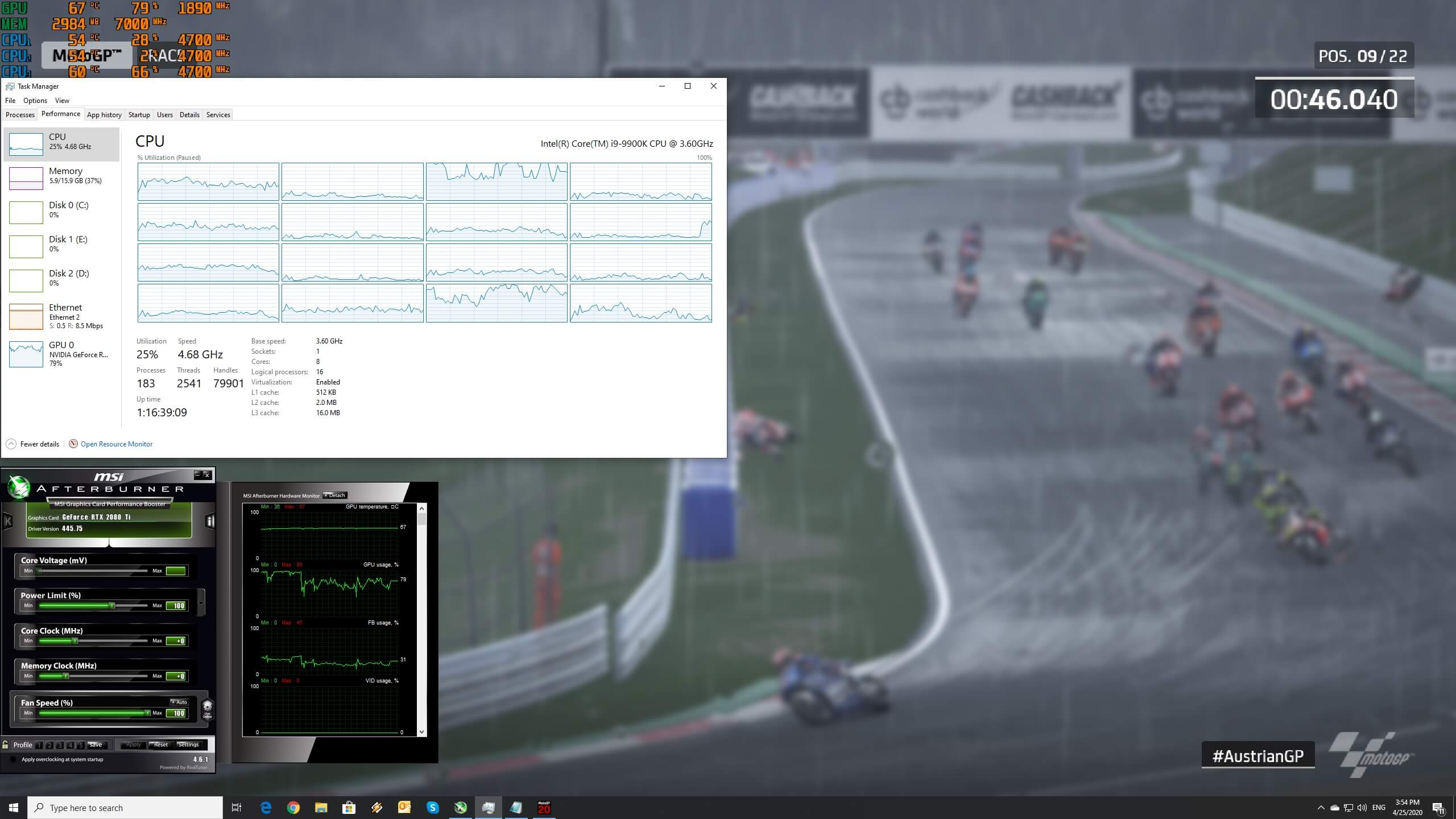 Motogp 20 Pc Performance Analysis