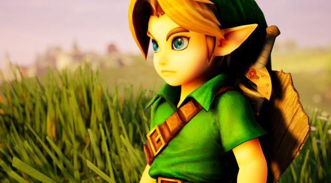 The Legend of Zelda Ocarina Of Time Remake in Unreal Engine 4.25 showcased in new video