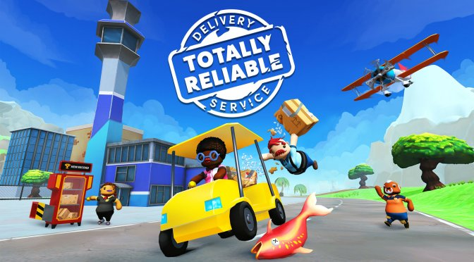 tinyBuild's Totally Reliable Delivery Service is free to own on Epic Games Store