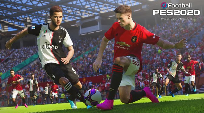 eFootball PES 2020 new screenshots header