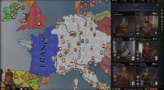 Crusader Kings III releases on September 1st