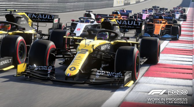 F1 2020 main screenshot