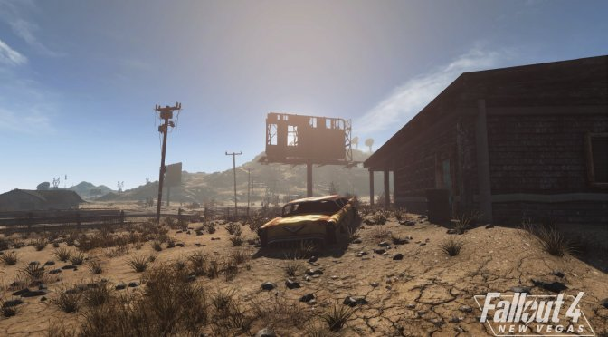 New screenshots released for the Fallout New Vegas remake in Fallout 4 Engine, Fallout 4: New Vegas