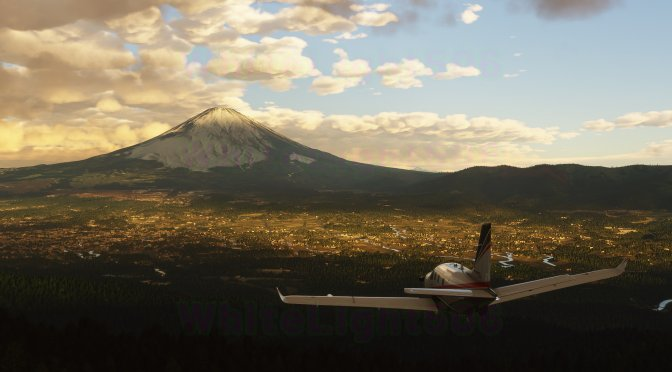 New Microsoft Flight Simulator screenshots show beautiful sea waves, volumetric clouds and more