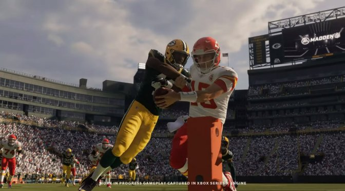First in-engine trailer released for Madden NFL 21