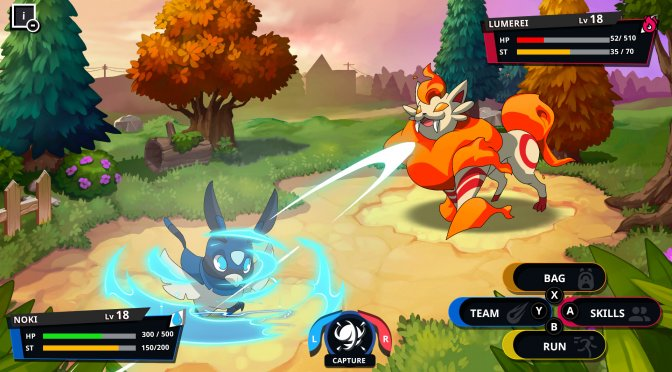 PQube announces a new Pokemon-like game, Nexomon: Extinction
