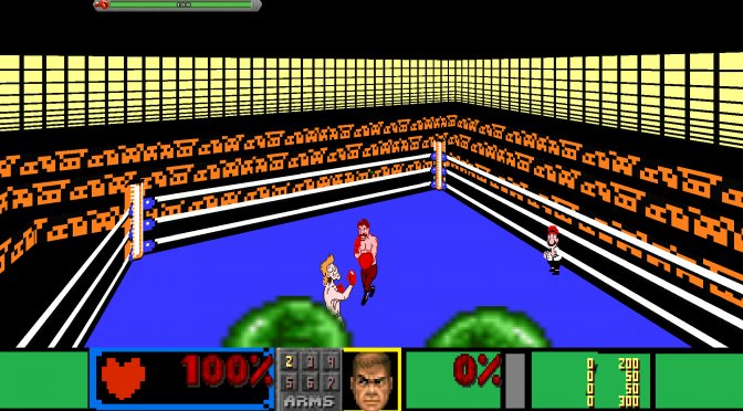 You can now play the classic NES game Punch Out in first-person via Doom Engine