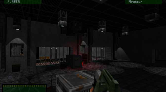 Aliens Eradication is an 8-map action survival game for GZDoom and is available for download