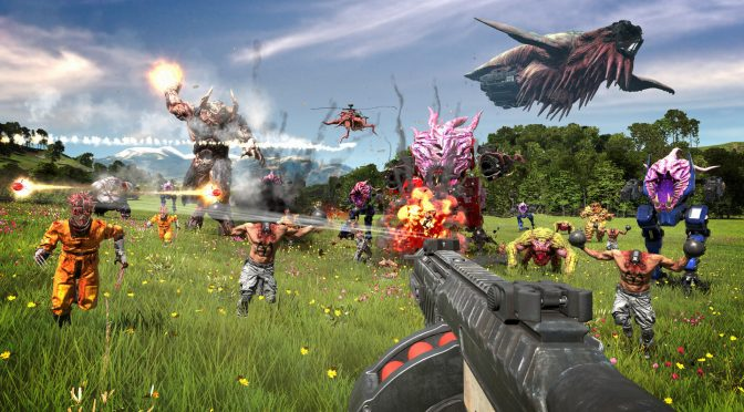 Brand new screenshots and more gameplay trailers for Serious Sam 4