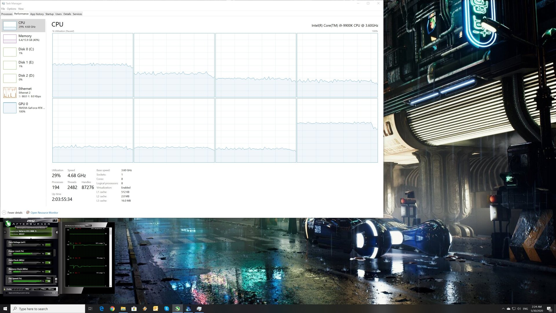 Those Who Remain CPU scaling