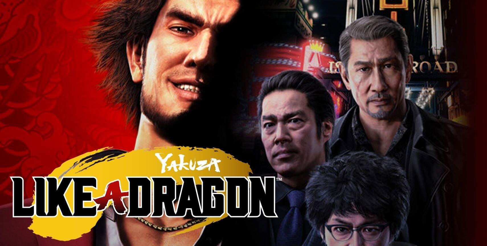 Yakuza Like a Dragon header image