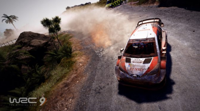 New gameplay trailer released for WRC 9, showcasing the Safari Rally Kenya stage