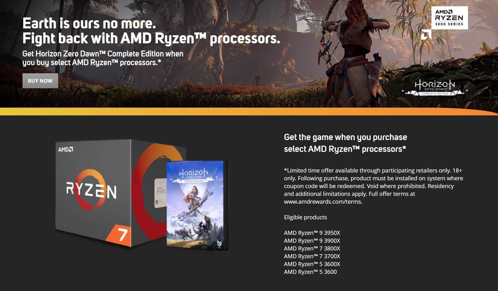 AMD Horizon Zero Dawn bundle