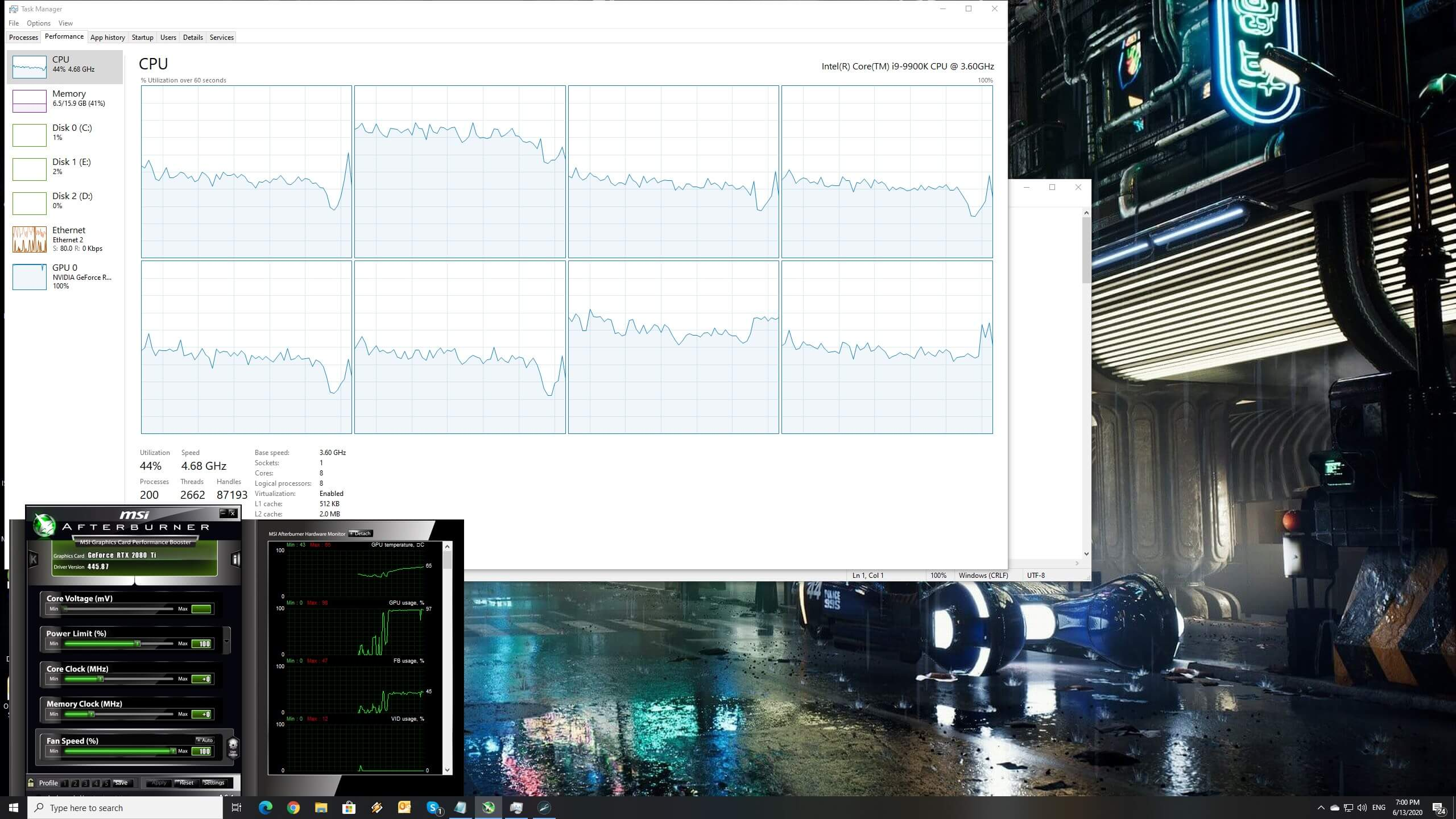 Beyond Blue Pc Performance Analysis