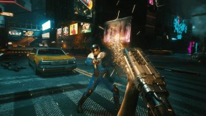 Cyberpunk 2077 first-person screenshots-2