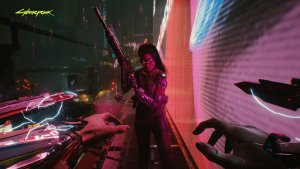 Cyberpunk 2077 first-person screenshots-4