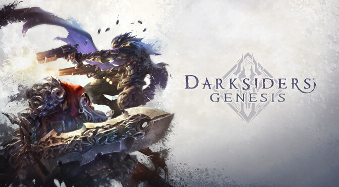 Soon you will be able to purchase an official Darksiders Genesis art book from Amazon