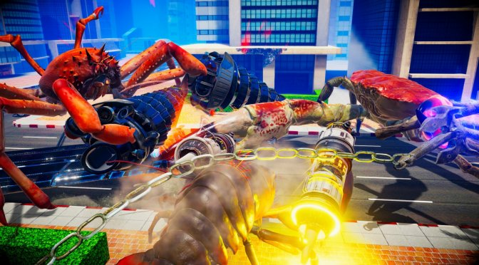 Fight Crab is a physics-based 3D action game & here is a new trailer for it