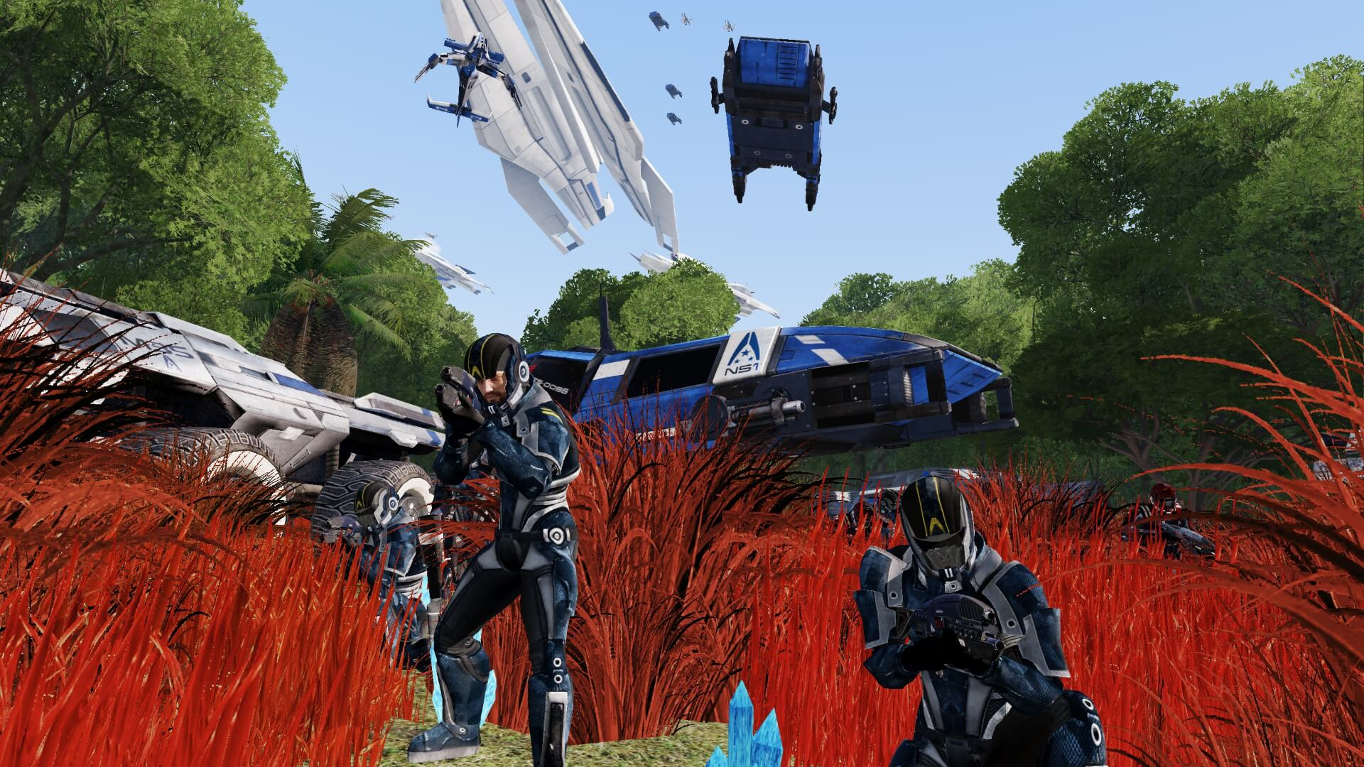 Major Mass Effect And Star Wars Mods Released For Arma 3
