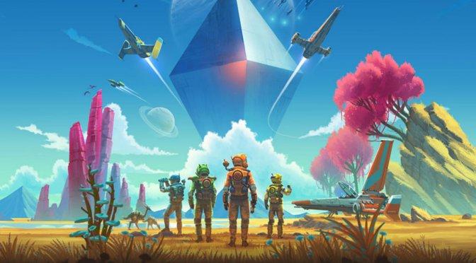 No Man's Sky Crossplay header image