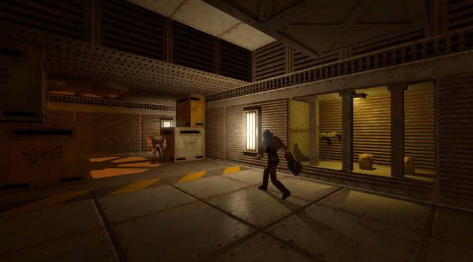 Here are some new screenshots from the Quake 2 Retexture and Relight Mod