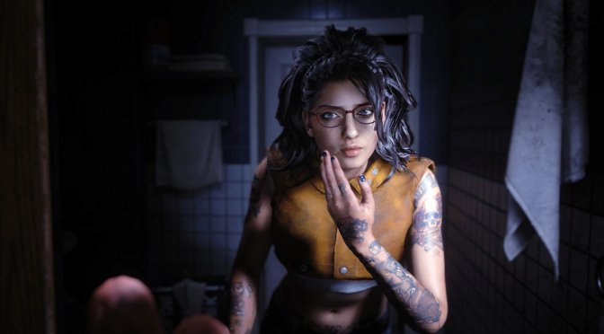 This mod brings Nico Goldstein from Devil May Cry 5 to Resident Evil 3 Remake